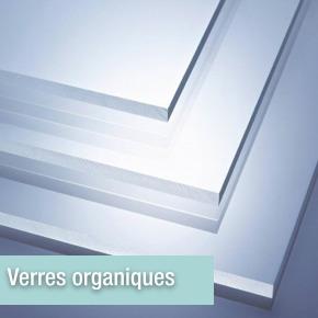 Verres organiques